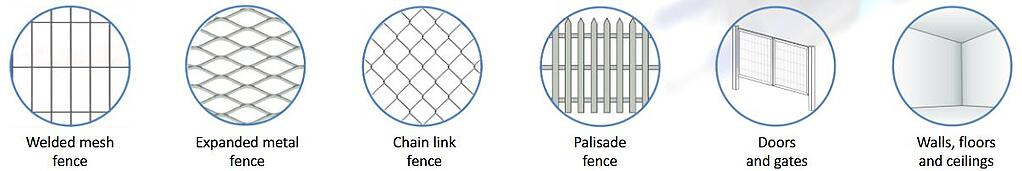 Protecting various types of perimeter structures-1